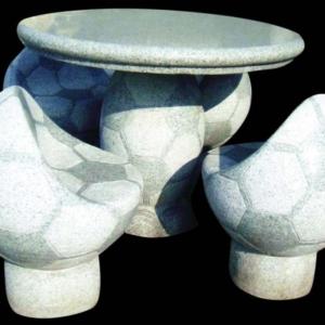 Садовая мебель из мрамора и гранита