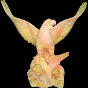 Скульптуры животных и птиц
