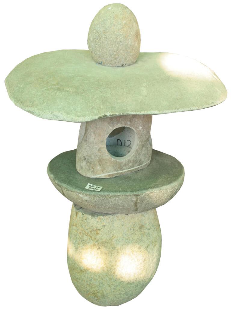 Домик фонарь из камня - фото