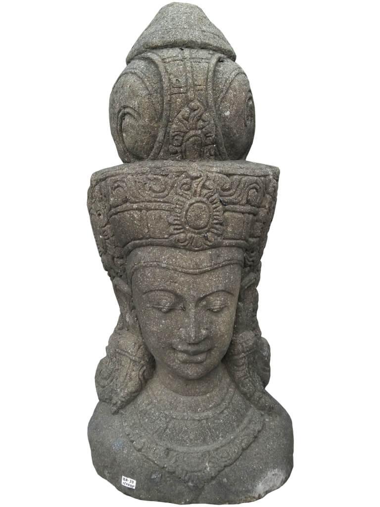 "Скульптура ""Голова царицы"" из бетона - фото"