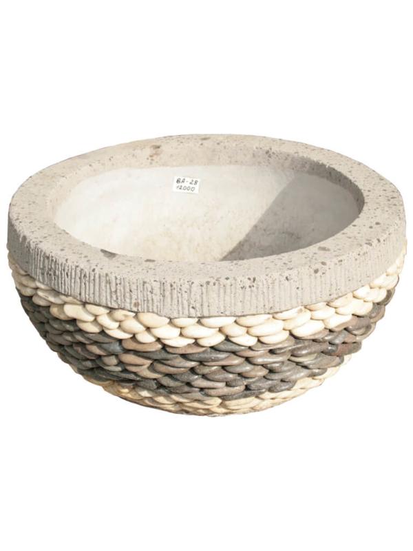 Каменная ваза ВА-28 - фото