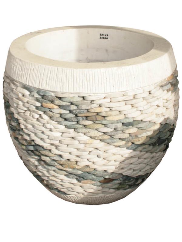 Каменная ваза ВА-29 - фото
