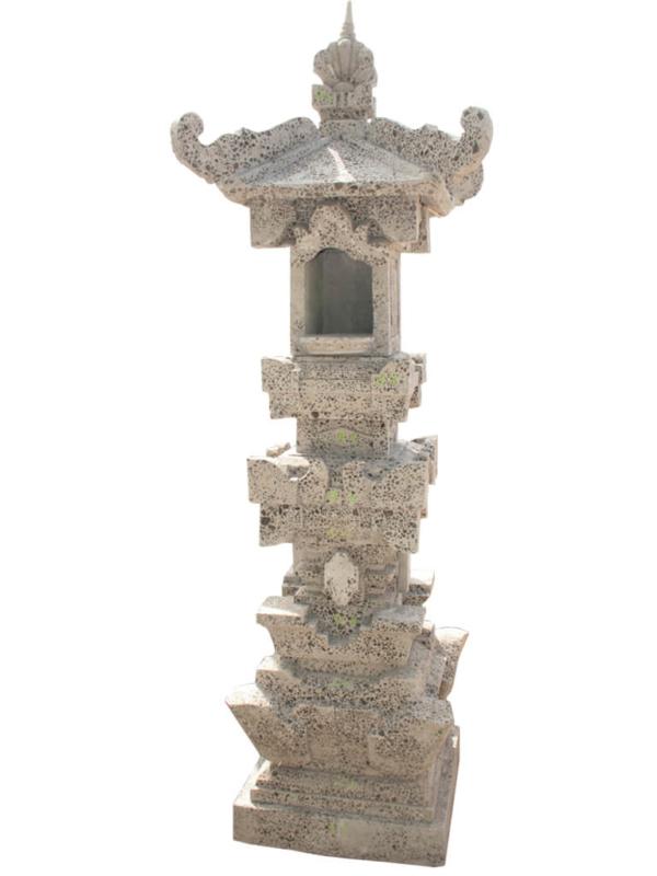 Пагода Бали большая из искусственного камня - фото