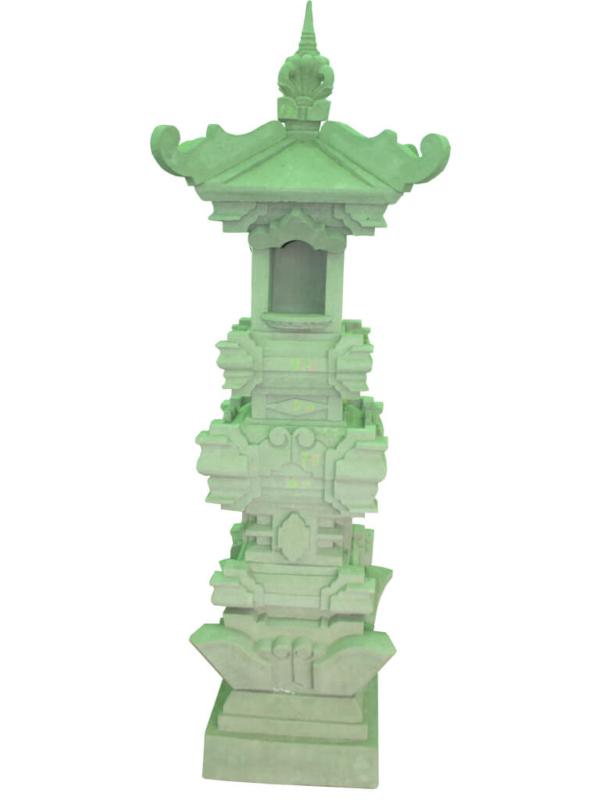 Пагода Бали серого цвета - фото