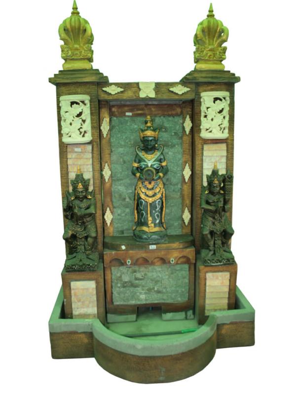 Пристенный фонтан Бали - фото