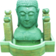 Пристенный фонтан Будда - фото