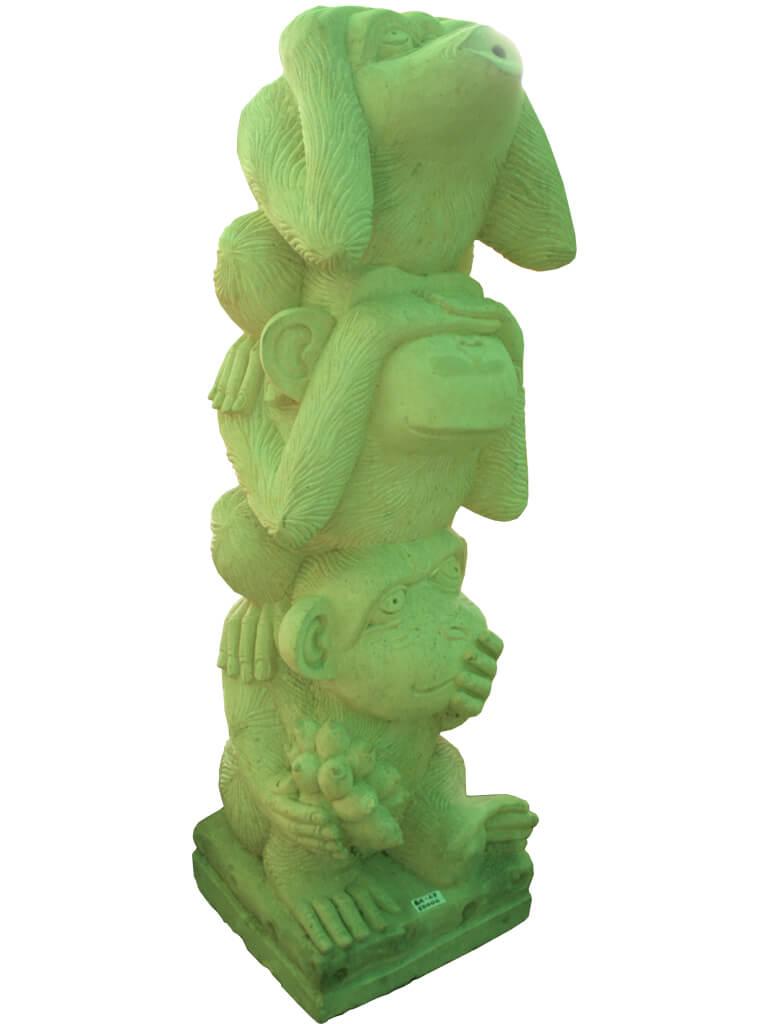 "Скульптура ""Три обезьяны"" - фото"