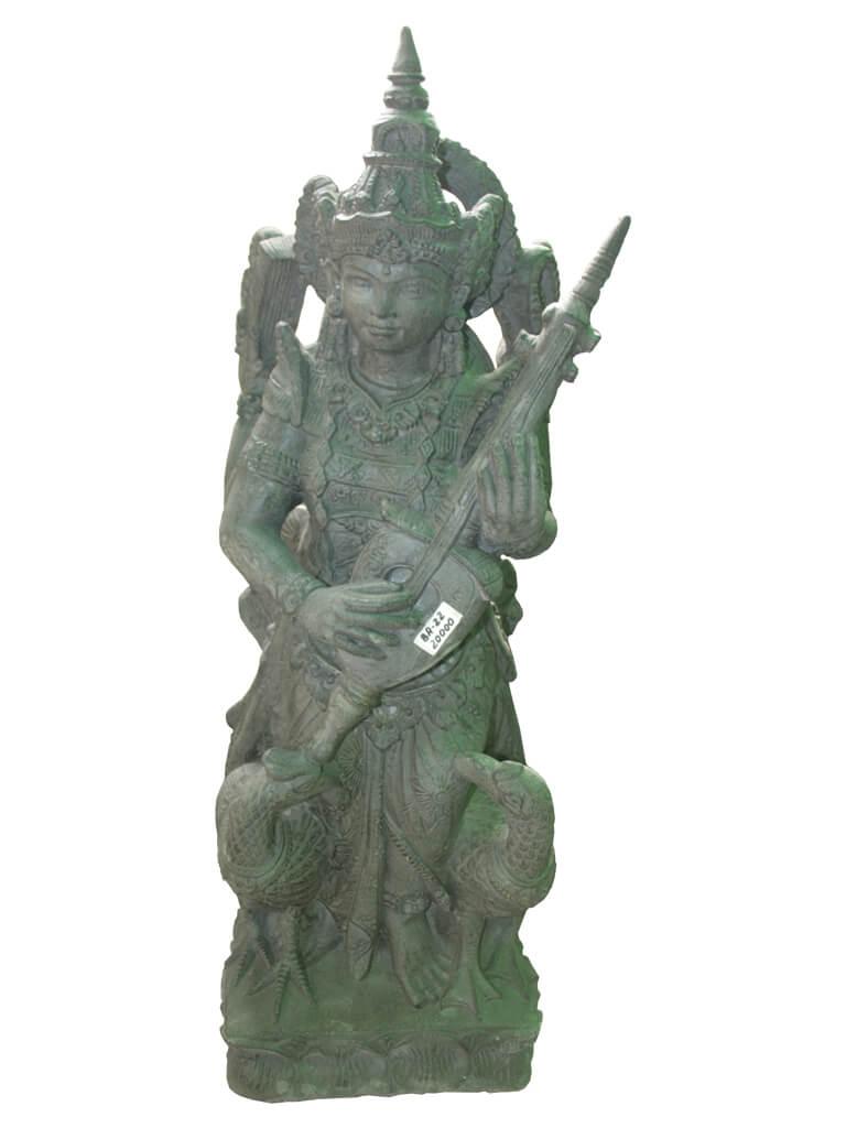 Статуя богини Сарасвати - фото